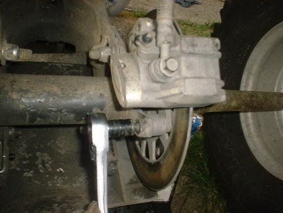 LOWER CALIPER MOUNING BOLT