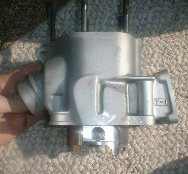 Piston installed in the Jugg